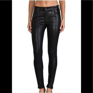 Citizens of Humanity High Rise Skinny Blac…